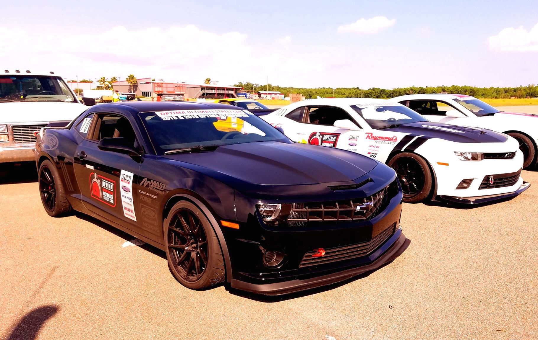 2013 Chevrolet Camaro | Bryan Johnson Wins GT Class at USCA NOLA with 5th Gen Camaro on Forgeline One Piece Forged Monoblock GA1R Open Lug Wheels
