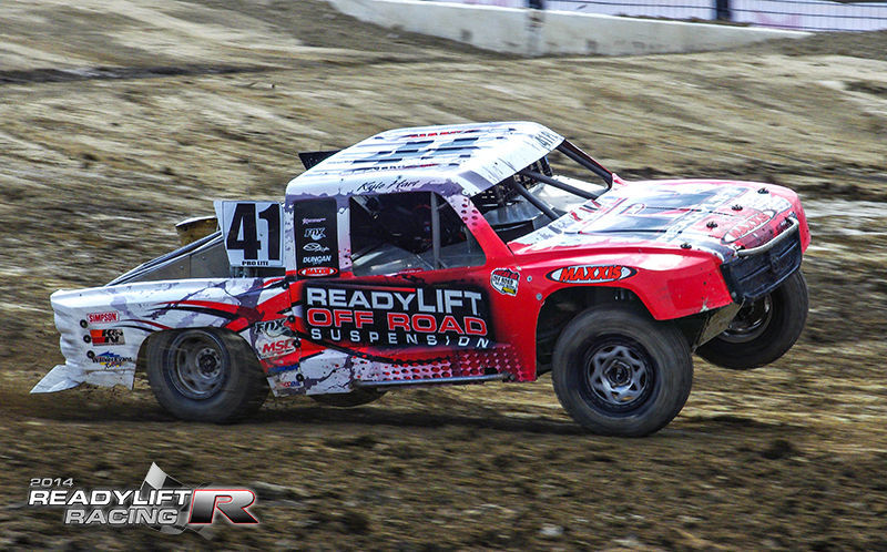 | Kyle Hart in Round 4 LOORRS Qualifying Lake Elsinore
