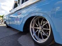 Butler's Big Oak Garage '65 Ford F-100 Truck on Forgeline ZX3P Wheels