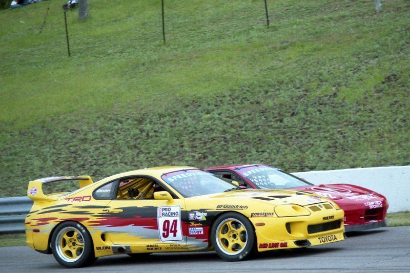 1997 Toyota Supra | Hikari Racing Supra on Forgeline RS Wheels at MoSport 1999