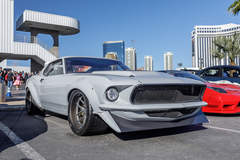 """Scott McMurray's Violetto Customs """"Cerberus"""" '69 Mustang on Forgeline VX3C Concave Wheels"""