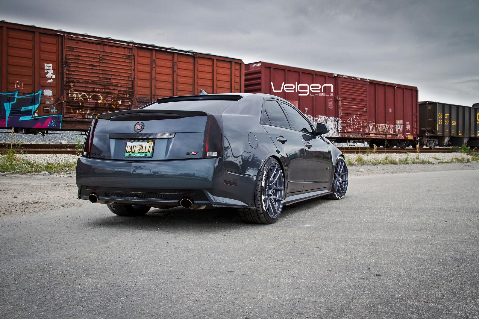 Cadillac CTS-V | Cadillac CTS-V on Velgen Wheels VMB5