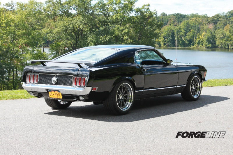 1970 Ford Mustang | 1970 Mustang Mach1 on Forgeline ZX3R Wheels