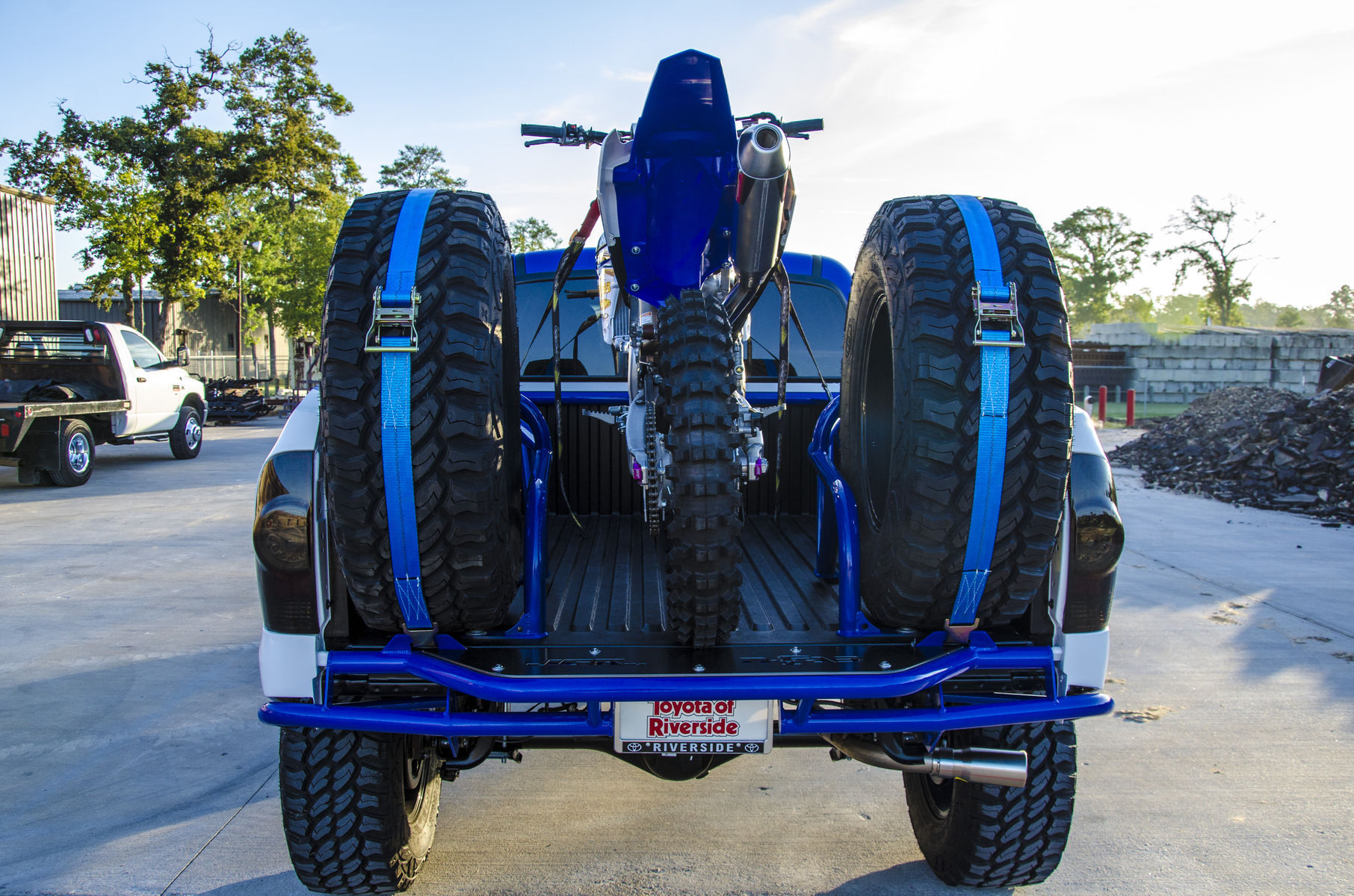 Toyota Tacoma | Justin Barcia's JGR Build - Rear Shot