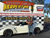 Tony Pasek's R35 Nissan GT-R on Forgeline One Piece Forged Monoblock GA1R Wheels