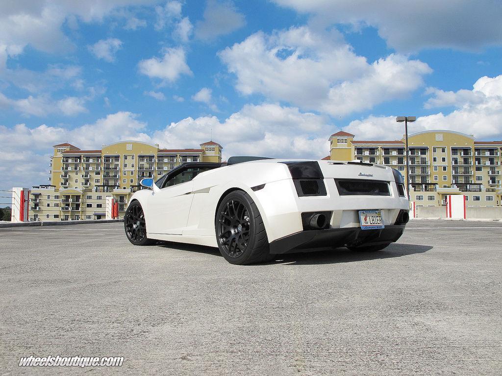 Lamborghini Gallardo | Wheels Boutique Heffner TT Gallardo On HRE P40