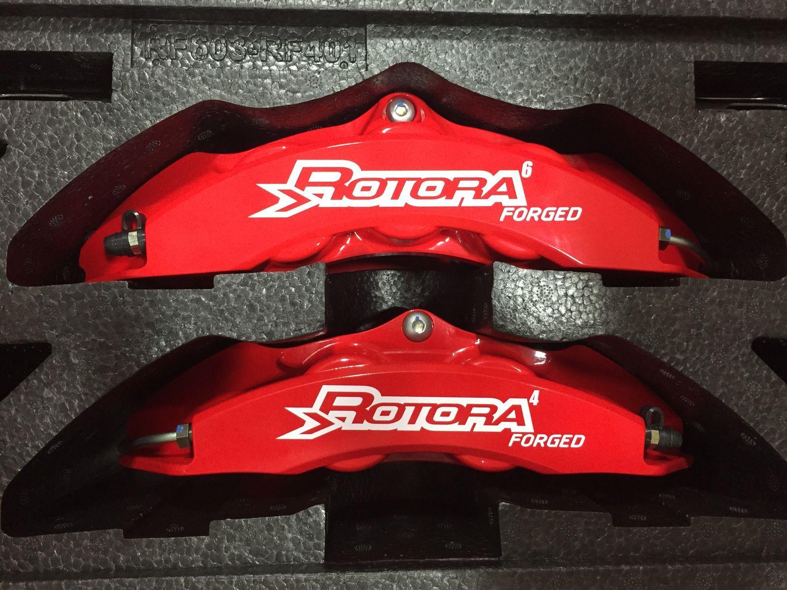 Ford Edge  Webasto Ford Edge Rotora Brake Calipers