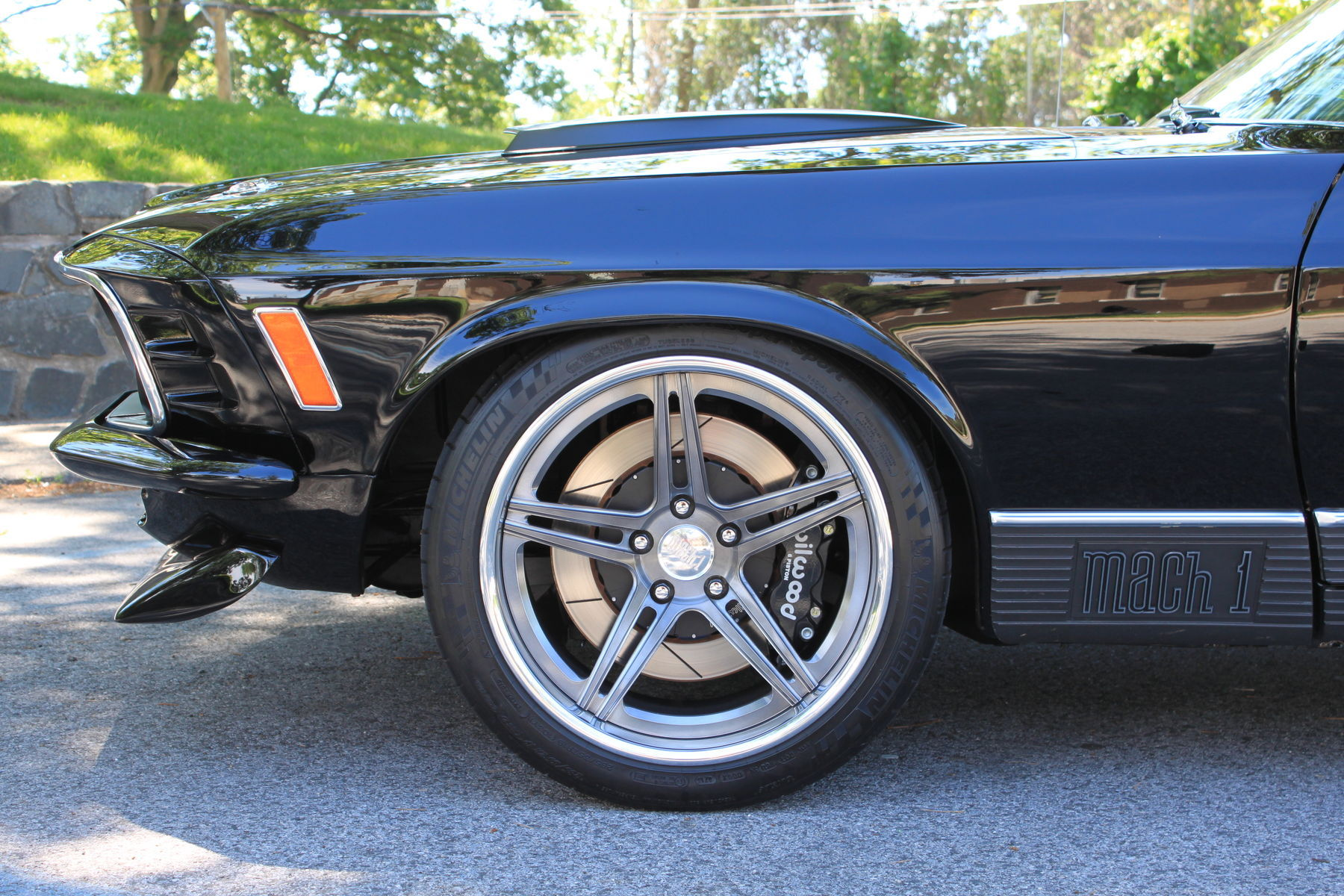1970 Ford Mustang | Forgeline SC3C Concave on the ACS Garage 1970 Mach 1 Mustang