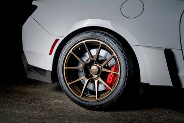 2018 Chevrolet Camaro   Tony Scalici's Camaro ZL1 on Forgeline One Piece Forged Monoblock GS1R Wheels