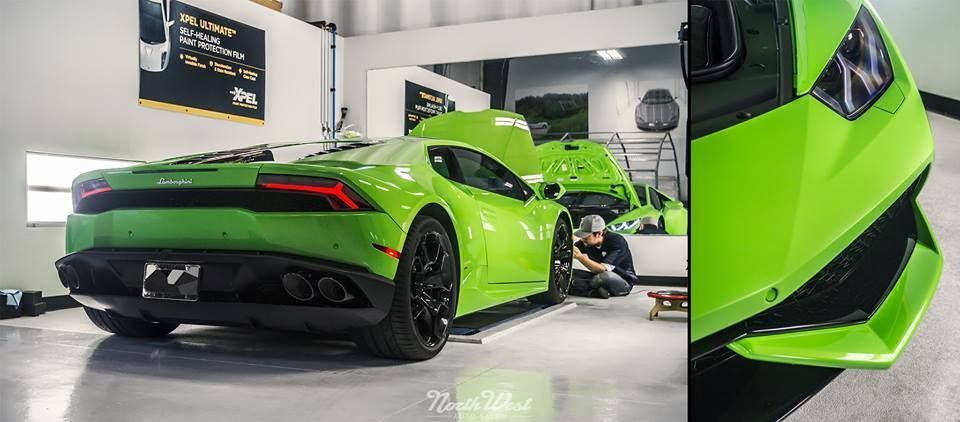 2015 Lamborghini Huracan | XPEL STEALTH Matte Film Wrapped Lamborghini Huracan LP610-4