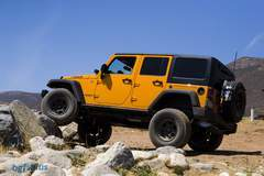 Supercharged Jeep Wrangler