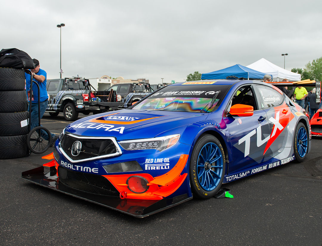 2018 Acura TLX | RealTime Racing's Acura TLX-GT to Tackle Pikes Peak on Forgeline One Piece Forged Monoblock GTD1 Wheels