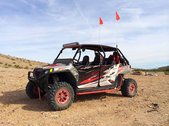 RZR with Rigid light bars