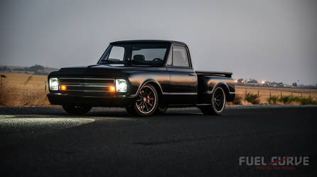 1967 Chevrolet C-10 | Brad Brown's East Bay Muscle Cars 1967 Chevy C10 Stepside Truck on Forgeline Dropkick Wheels