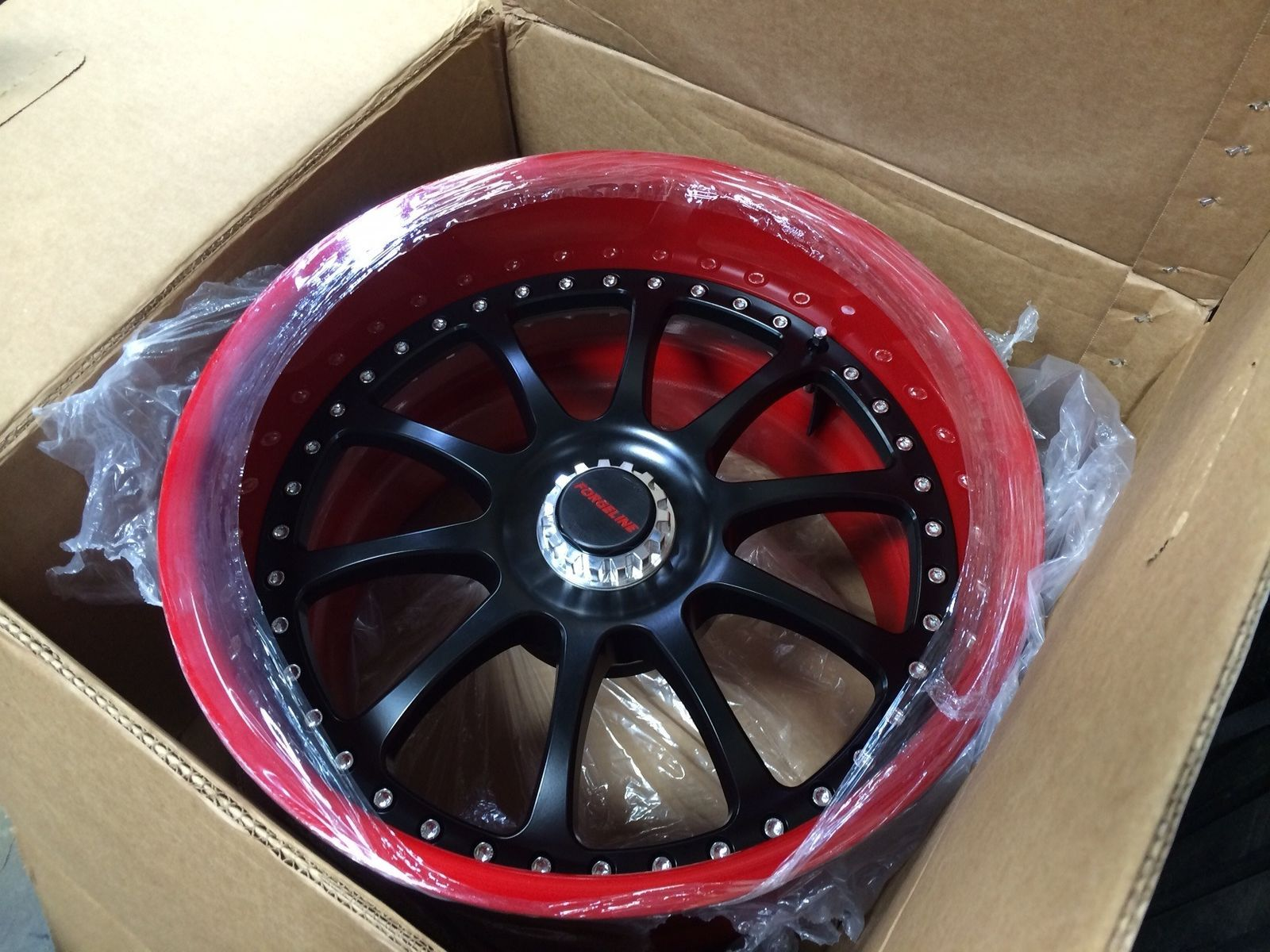 | Center Locking Forgeline ZX3P Wheel for the Fast N Loud Chevy C-10 Pikes Peak Pace Truck