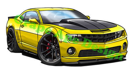 2013 Chevrolet Camaro | Chevy Camaro SS 1LE art design