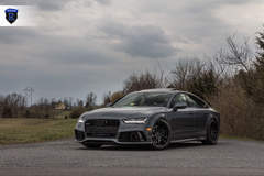 Gray Audi RS 7 - Front Angle