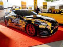 "Flat 12 Gallery's ""Pennzilla"" Nissan GT-R on Forgeline 1pc Forged Monoblock GA1R Wheels"