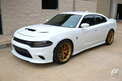 Whitehead Motorsports Dodge Charger SRT Hellcat on Forgeline One Piece Forged Monoblock VX1 Wheels