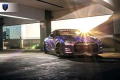 Wrapped Nissan GTR - Sunlight