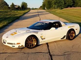 "2001 Chevrolet Corvette Z06 | Chris Jacobs' ""Fluffy"" C5 Corvette Z06 on Forgeline One Piece Forged Monoblock GTD1 5-Lug Wheels"