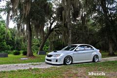 '11 Subaru WRX on Klutch SL14's