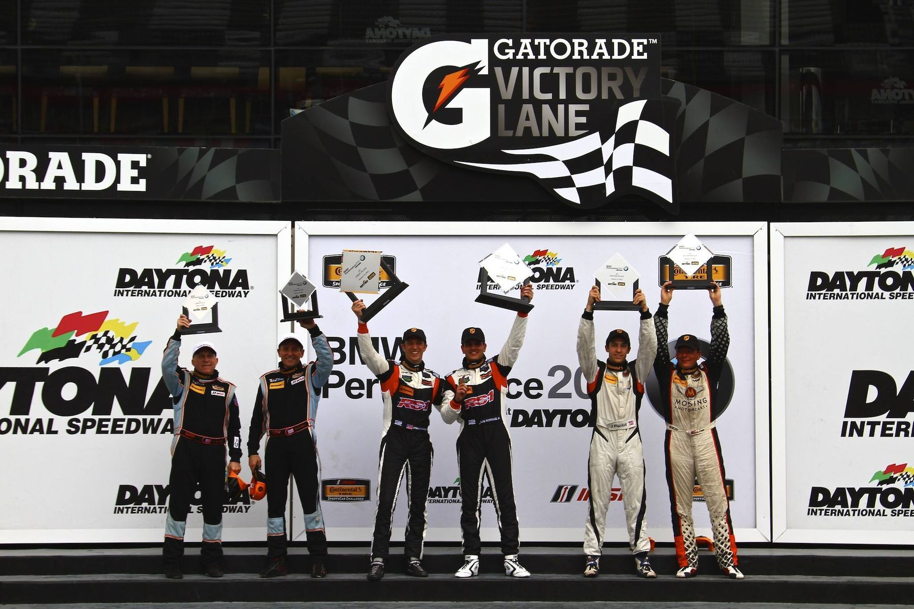| ST Class Podium at the 2015 BMW Performance 200 at Daytona