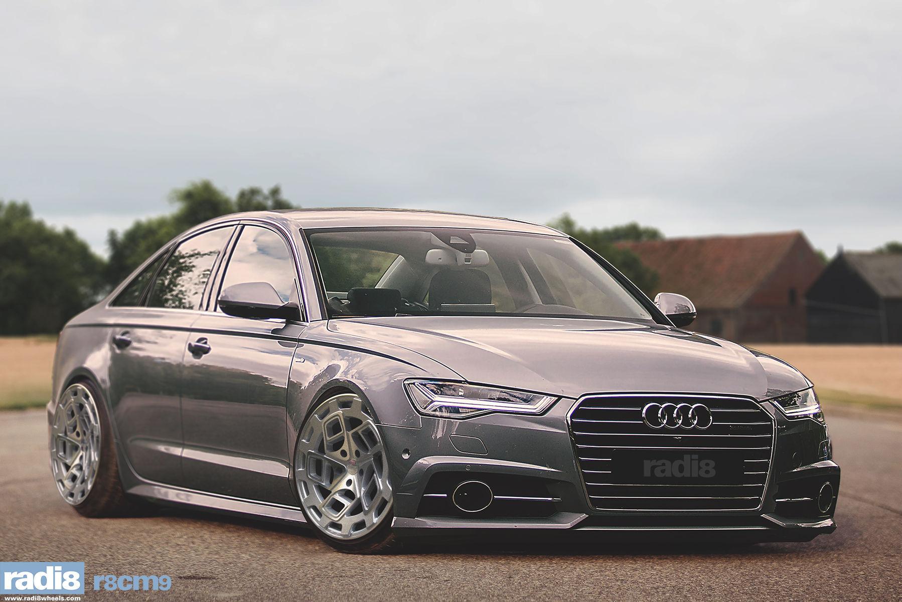 Audi A6   Radi8 R8CM9 - Audi A6