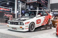 Honest Assembly's S55-Swapped BMW E30 M3 on Center Locking Forgeline LS3 Wheels