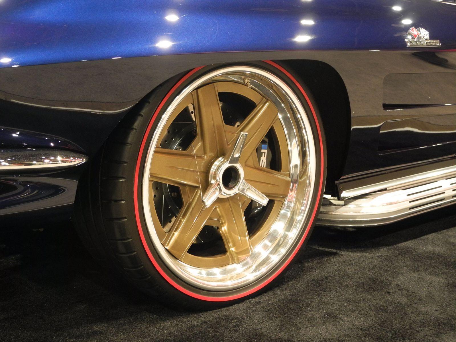 1964 Chevrolet Corvette | Roadster Shop Corvette on Forgeline RS6 Wheels