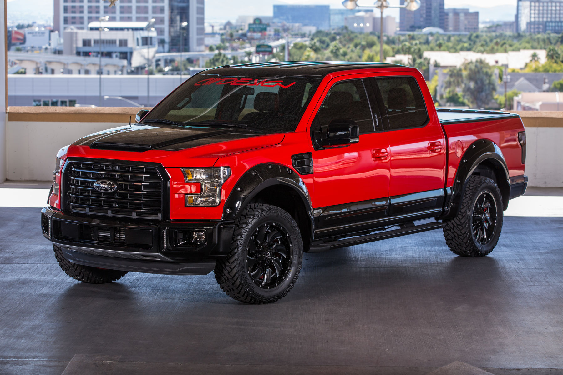 2015 Ford F-150 | 2015 AIRDESIGN Ford F-150 - SEMA Photo Shoot