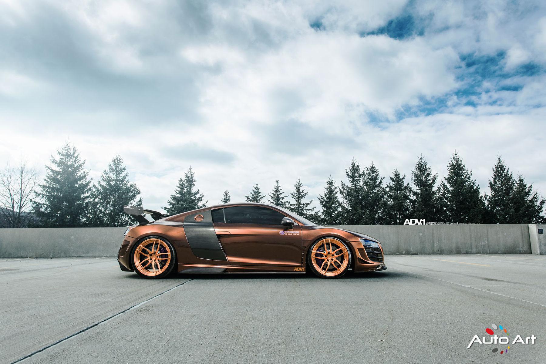 Audi R8   Prior Design Audi R8