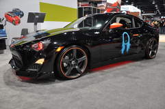 Scion FRS in Scion Booth @ SEMA '13