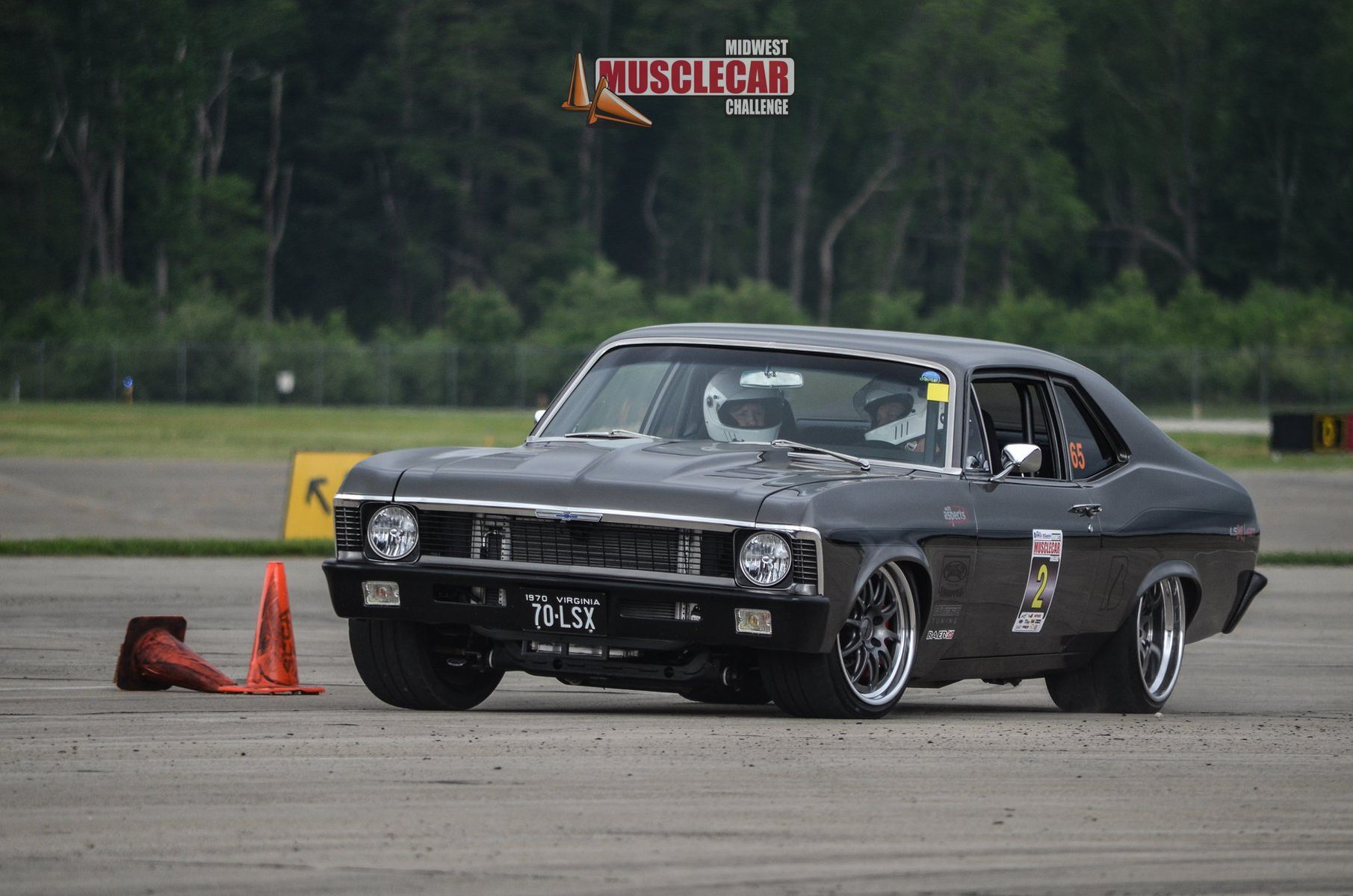 1970 Chevrolet Nova | Jeff Cleary's Pro-Touring 1970 Chevy Nova on Forgeline GZ3 Wheels