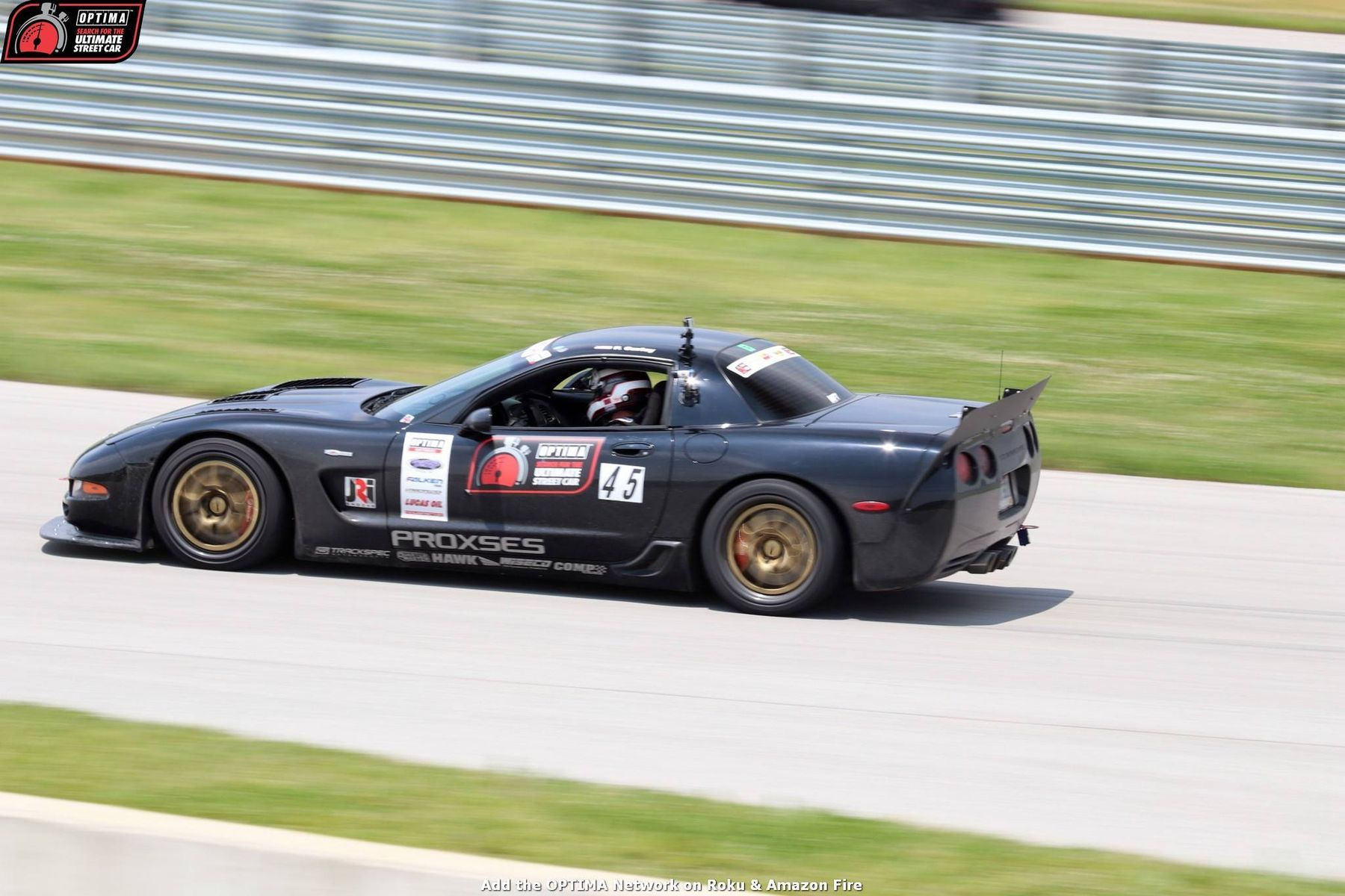 1998 Chevrolet Corvette Z06 | Paul Curley Wins USCA GTS Class at NCM on Forgeline GA3R Wheels