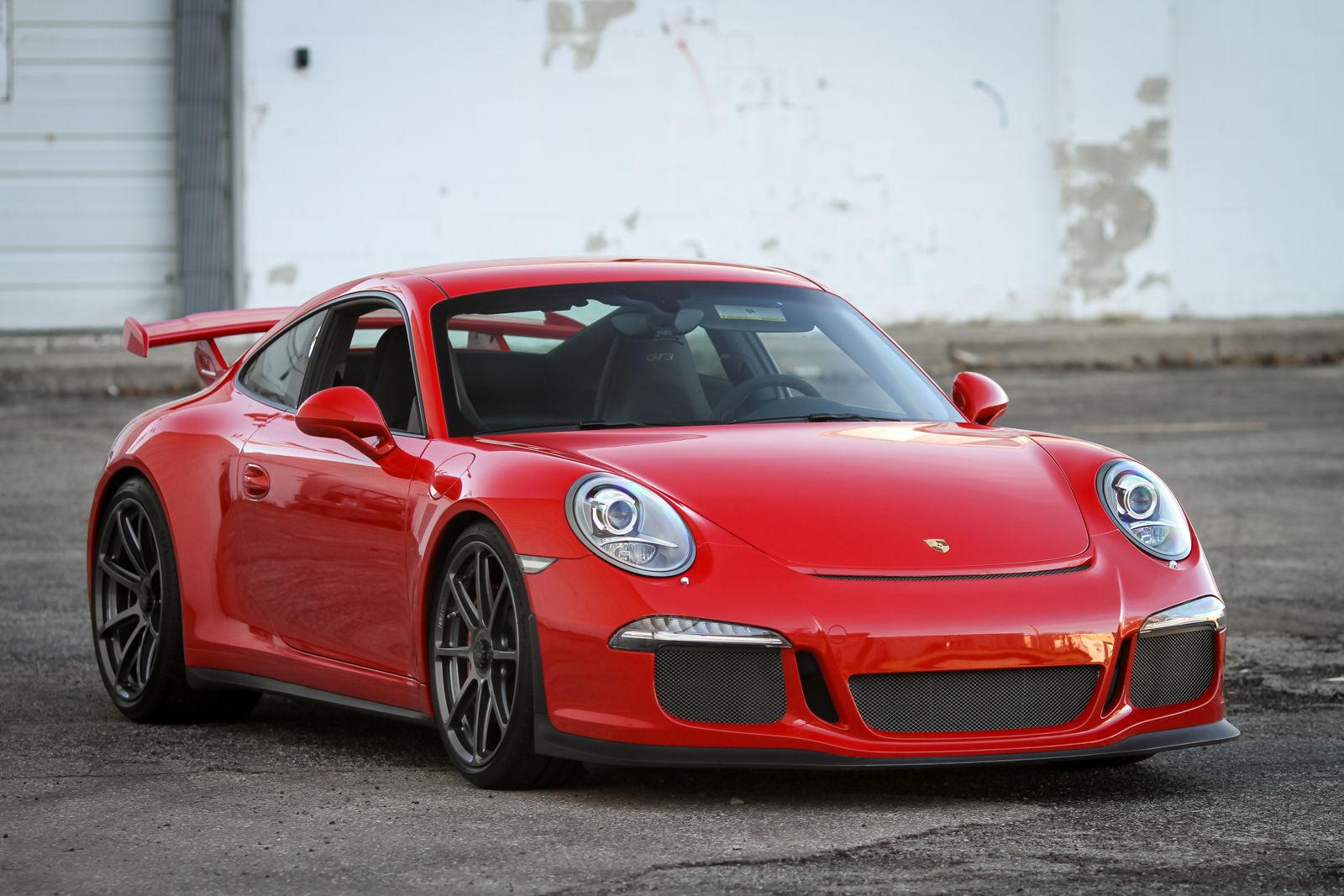 2015 Porsche 911 | Alan C's Porsche 991 GT3 on Forgeline One Piece Forged Monoblock GE1 Wheels