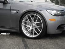 Forgeline One Piece Forged Monoblock SE1 on BMW E92 M3
