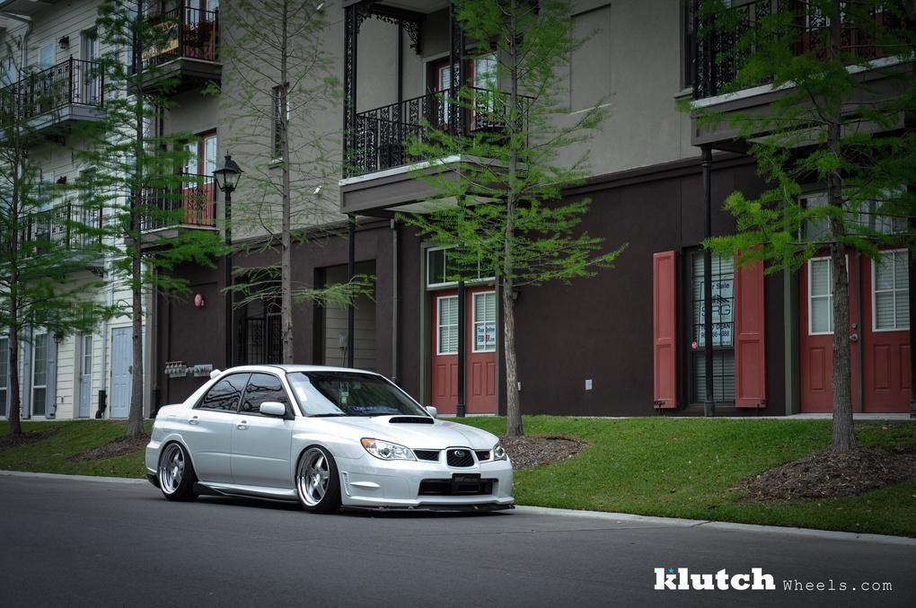 2007 Subaru Impreza WRX   '07 Subaru WRX STI on Klutch SL5's