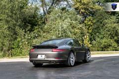 Charcoal Porsche 911 Carrera - Rear