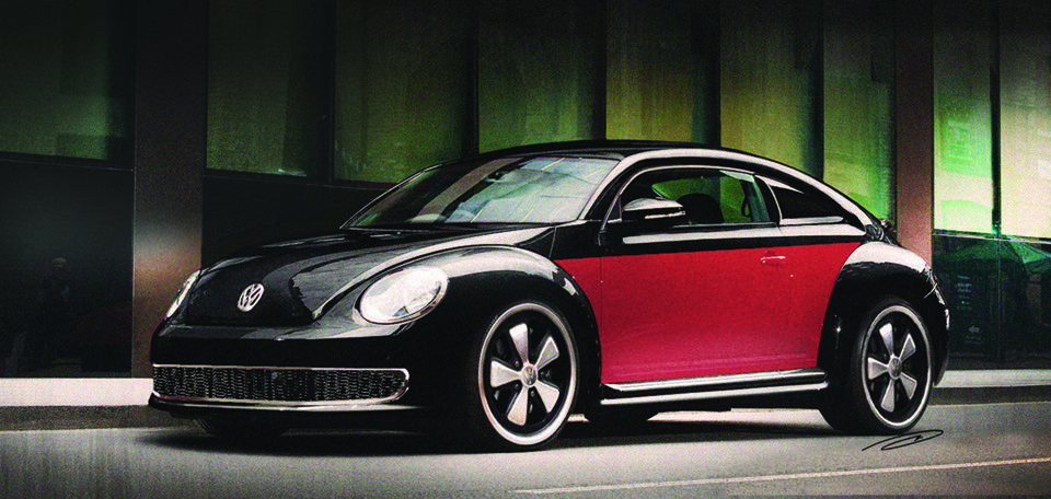 2013 Volkswagen Beetle | Chopped Beetle Drivers Side