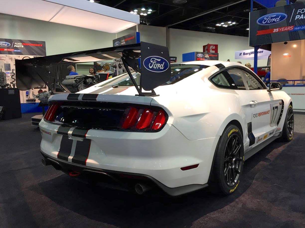 2017 Ford Mustang | Ford's Shelby FP350S Mustang Factory-Direct Racecar on Forgeline One Piece Forged Monoblock GS1R Wheels