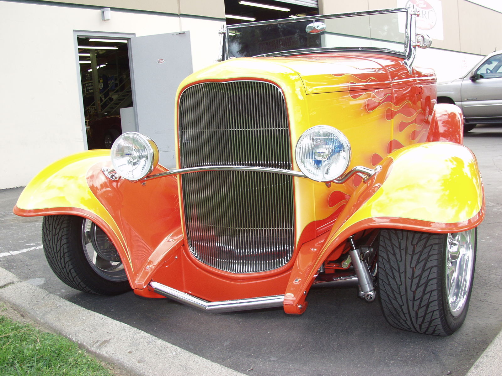 | HOT ROD on FIRE
