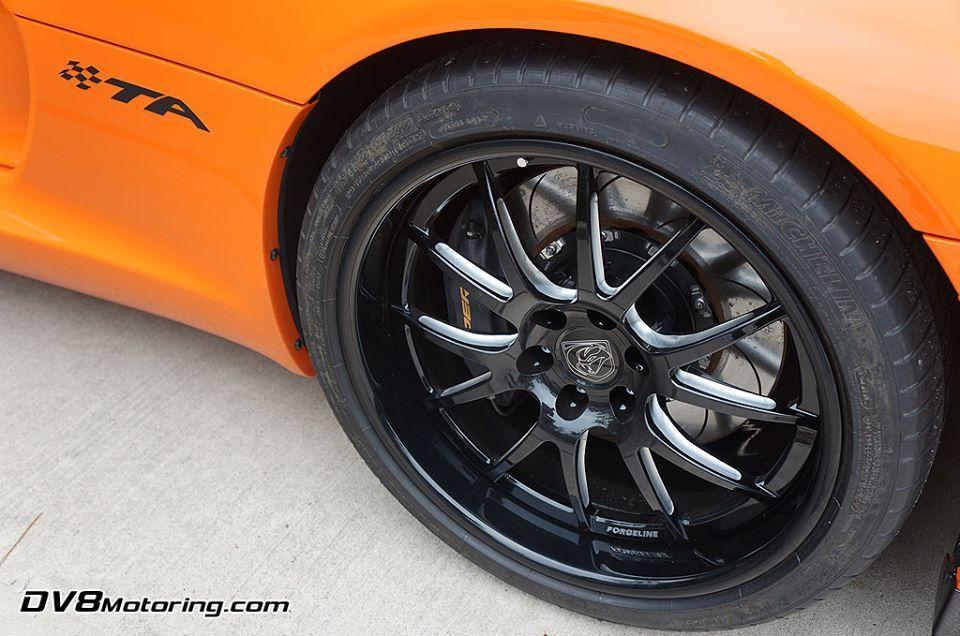 2014 Dodge Viper | Michael Arthur's 2014 Dodge Viper TA on Forgeline GA3-6 Wheels