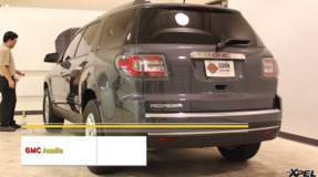 8 Passenger 2013 GMC Acadia gets high impact areas protected with XPEL Self-Healing film