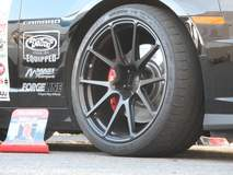 Bryan Johnson's 1LE Camaro on Forgeline One Piece Forged Monoblock GA1R Open Lug Wheels