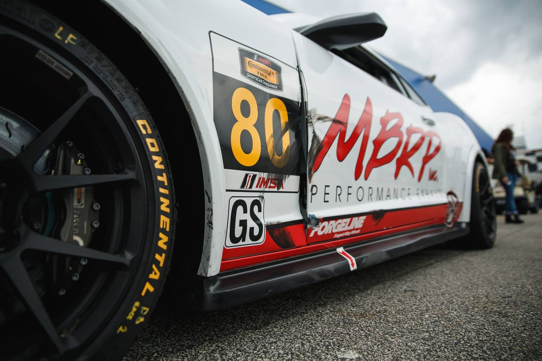2014 Chevrolet Camaro | Mantella Autosports Camaro Z/28.R on Forgeline One Piece Forged Monoblock GS1R Wheels at Daytona