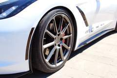 MBRP Performance Exhaust Project C7 Corvette on Forgeline RB1 Wheels