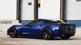 660+HP All-Motor Davenport Motorsports C6 Corvette Z06 on Forgeline CF3C Concave Wheels