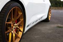 MBRP's 2016 Gen 6 Chevy Camaro SS on Forgeline One Piece Forged Monoblock VX1 Wheels