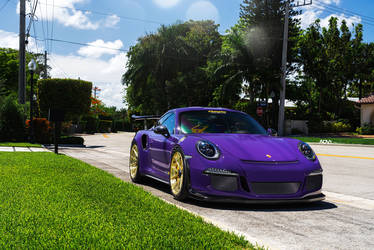 2017 Porsche 911 | ADV.1 Advanced Series | Purple Porsche GT3 RS